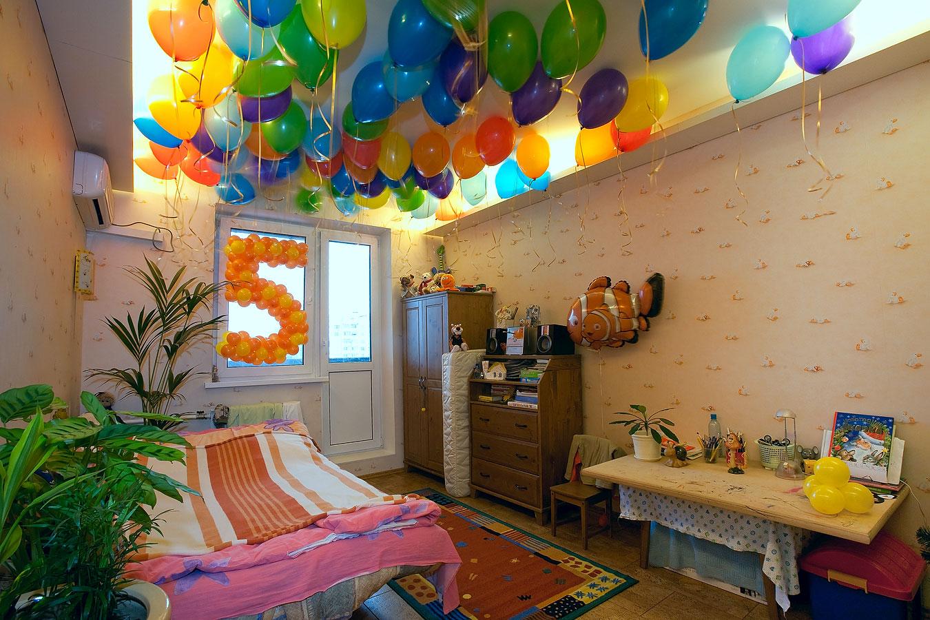 Украшаем комнату на день рождения ребенка своими руками. Фото 81